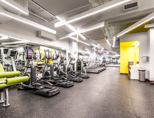 New Fitness Center: New Year's Resolutions
