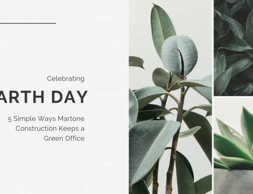 5 Simple Ways Martone Construction Keeps a Green Office