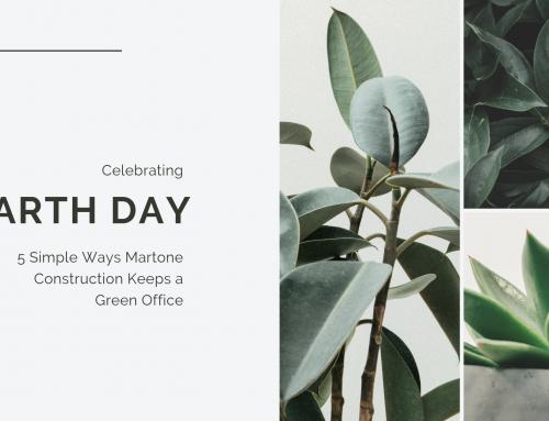 5 Simple Ways Martone Construction Keeps a Green Office